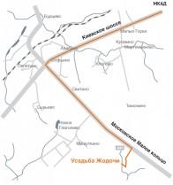 Водопроводная система, газопровод, электричество, центральная канализация.  35 км от Москвы по Киевскому или...